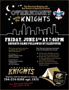2015 Overnight with the Knights
